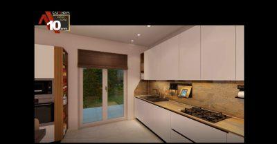 Video render di un arredamento completo, progettazione in 3d e realtà virtuale