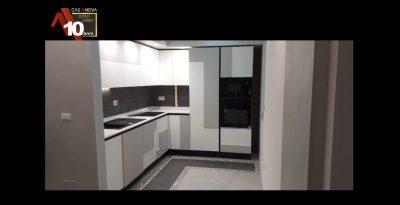 personalizzazione artigiana di una cucina industriale e montaggio
