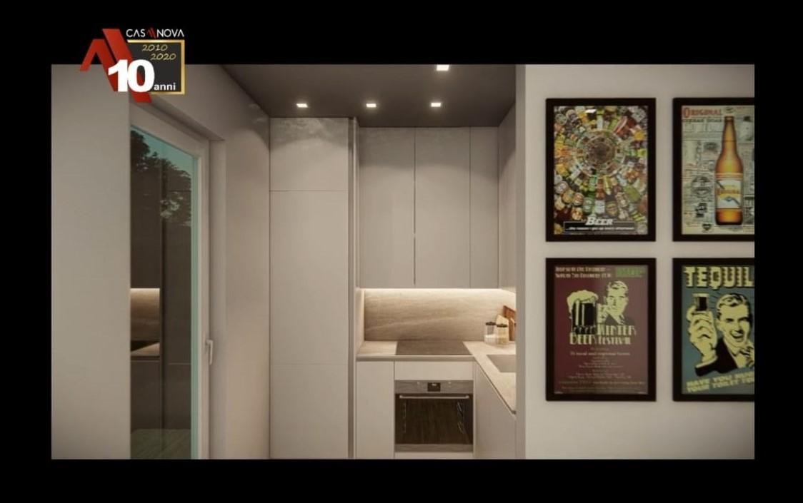 Video render cucina 2.15m x 1.80m
