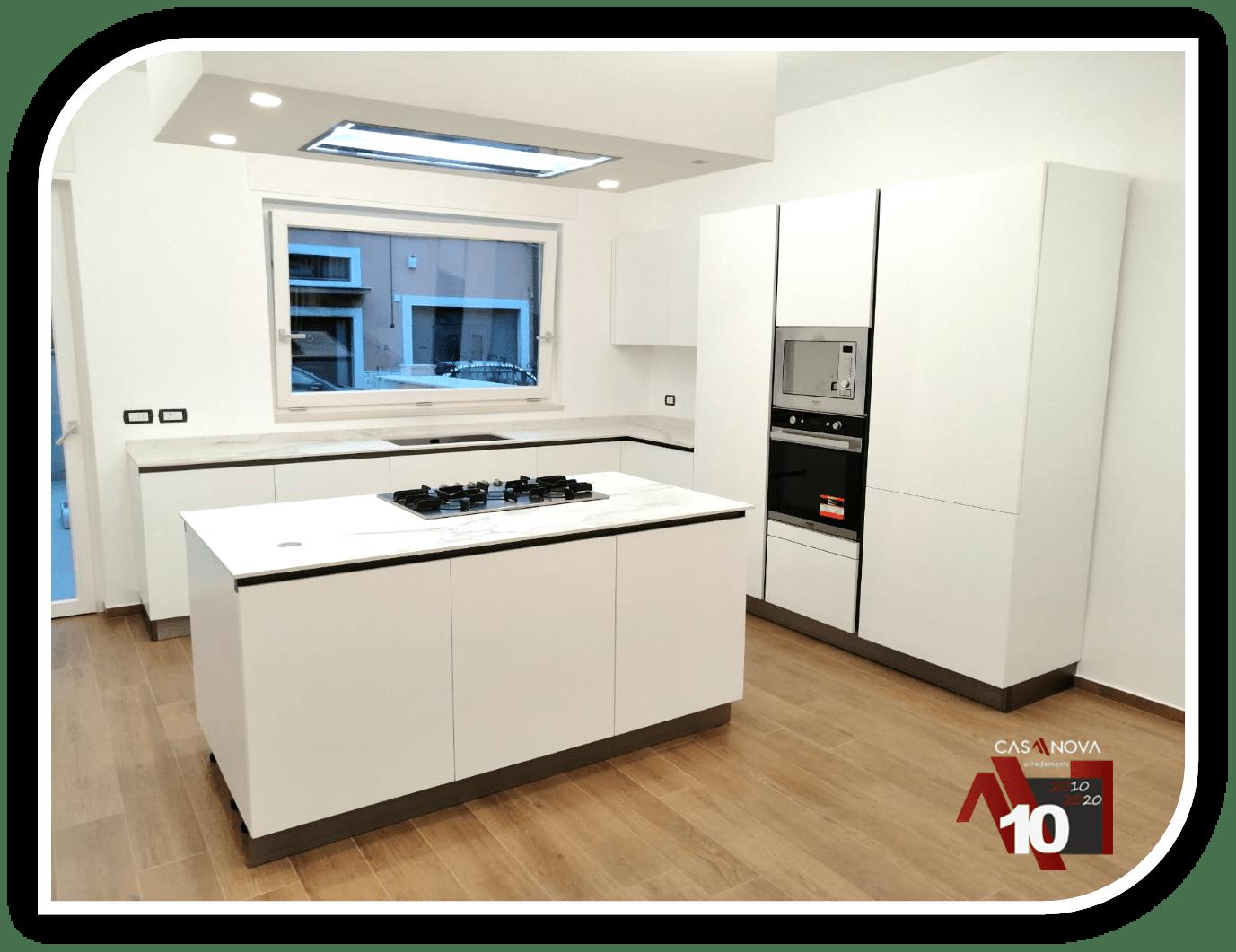 Come ricavare altro spazio e funzionalità con una cucina con isola