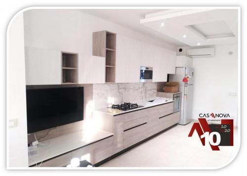 6 metri di cucina lineare per chi ama gli spazi liberi 4